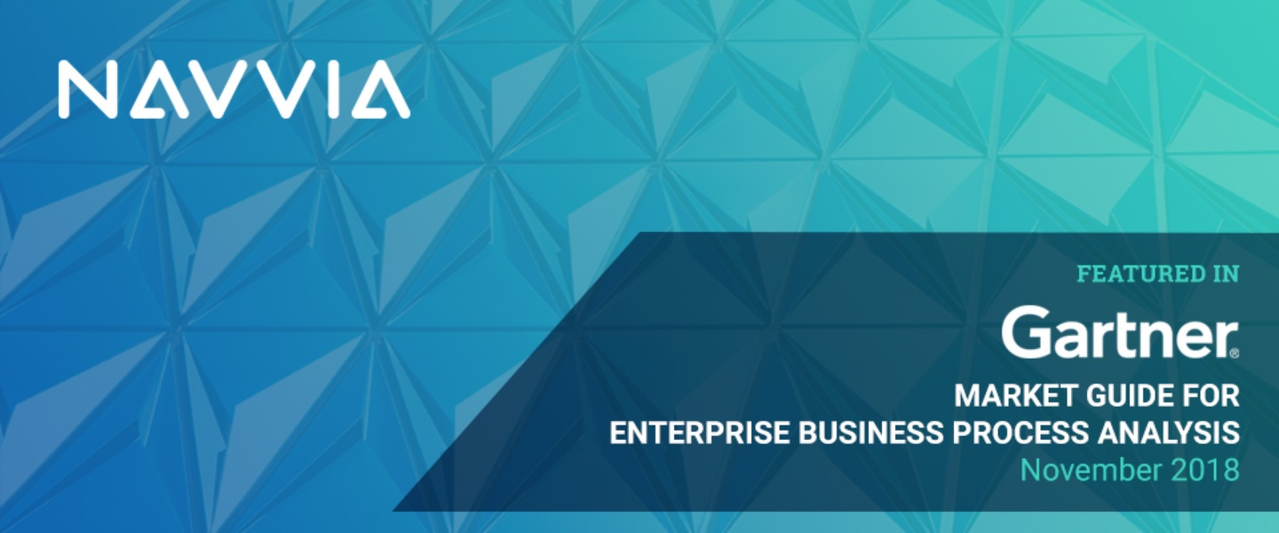 Navvia in Gartner Market Guide for Enterprise Business Process Analysis